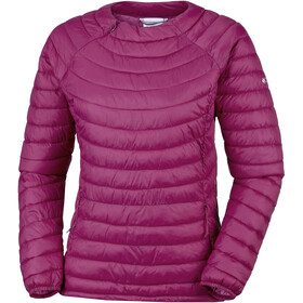 Columbia Powder Pass Pullover Dames, wine berry